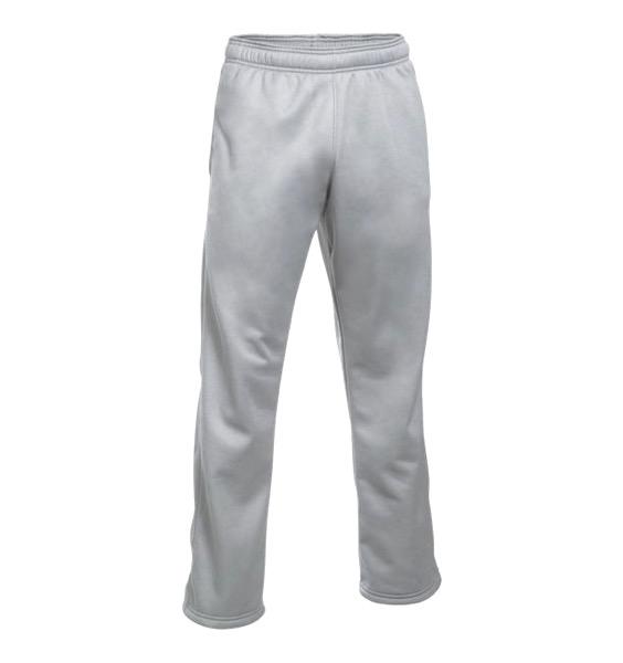 即納 アンダーアーマー メンズ Under Armour Armour Fleece Double Threat Pants スウェット True Gray Heather / Black フリースパンツ