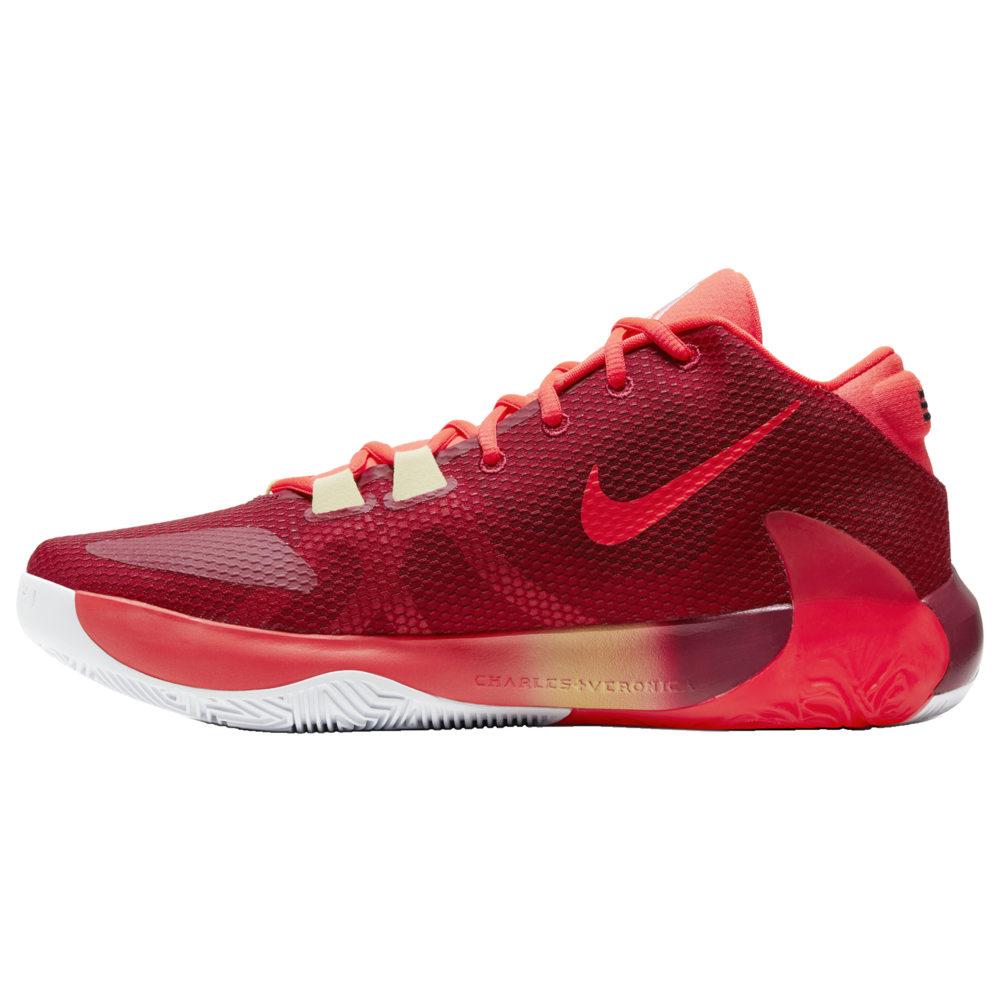 ナイキ メンズ ズーム フリーク 1 Nike Zoom Freak 1 バッシュ Noble Red/Blackened Blue/Bright Crimson