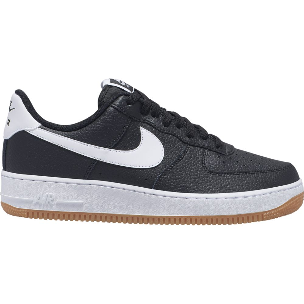 ナイキ メンズ エア フォース1 Nike Air Force 1 Low スニーカー Black/White/Wolf Grey/Gum Medium Brown