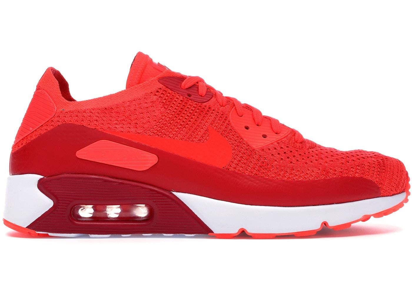 ナイキ メンズ Nike Air Max 90 Ultra 2.0 Flyknit Bright Crimson スニーカー BRIGHT CRIMSON/BRIGHT CRIMSON エアマックス90