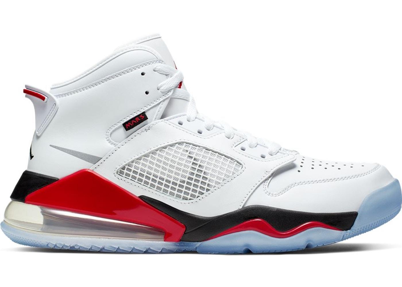 ジョーダン メンズ マーズ270 Jordan Mars 270 バッシュ White/Reflective Silver/Fire Red/Black