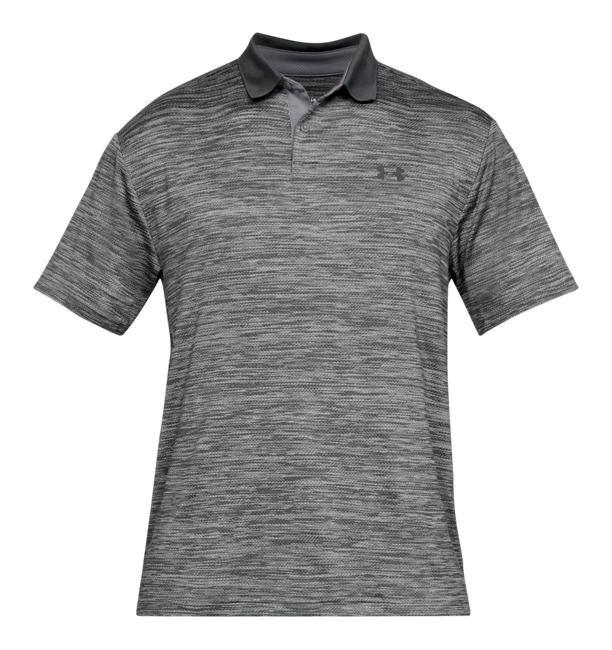 【コレ買ってきて】2/20より注文順に発送開始予定 送料無料 アンダーアーマー メンズ Under Armour Performance Textured Golf Polo Shirt ゴルフ ポロシャツ Steel