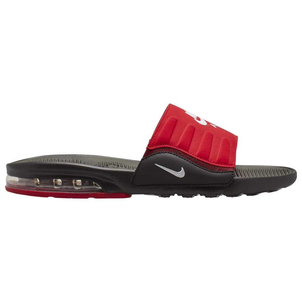 ナイキ メンズ Nike Air Max Camden Slide サンダル スリッパ Black/White/University Red/Team Red