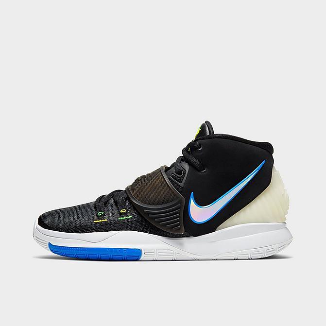 ナイキ キッズ/レディース カイリー6 Nike Kyrie 6 GS バッシュ Black/White/Soar/Dynamic Yellow