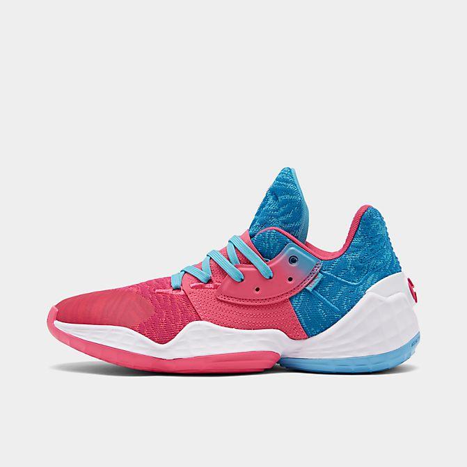 アディダス メンズ ハーデン ボリューム4 Adidas Harden Vol.4 バッシュ Bright Blue/Real Pink/White