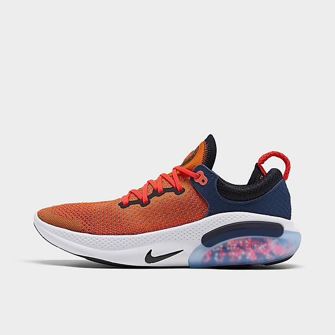 ナイキ メンズ ランニングシューズ Nike JOYRIDE Run Flyknit Running Shoes スニーカー Magma Orange/Black/Midnight Navy