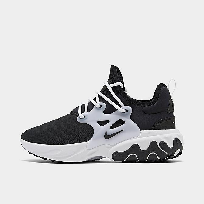 ナイキ メンズ ランニングシューズ Nike React Presto Running Shoes スニーカー Black/Black/White