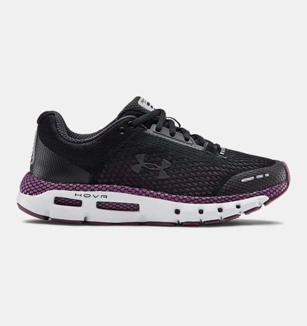 アンダーアーマー レディース シューズ Under Armour HOVR Infinite Women's Running Shoes ランニングシューズ Level Purple / Halo Gray