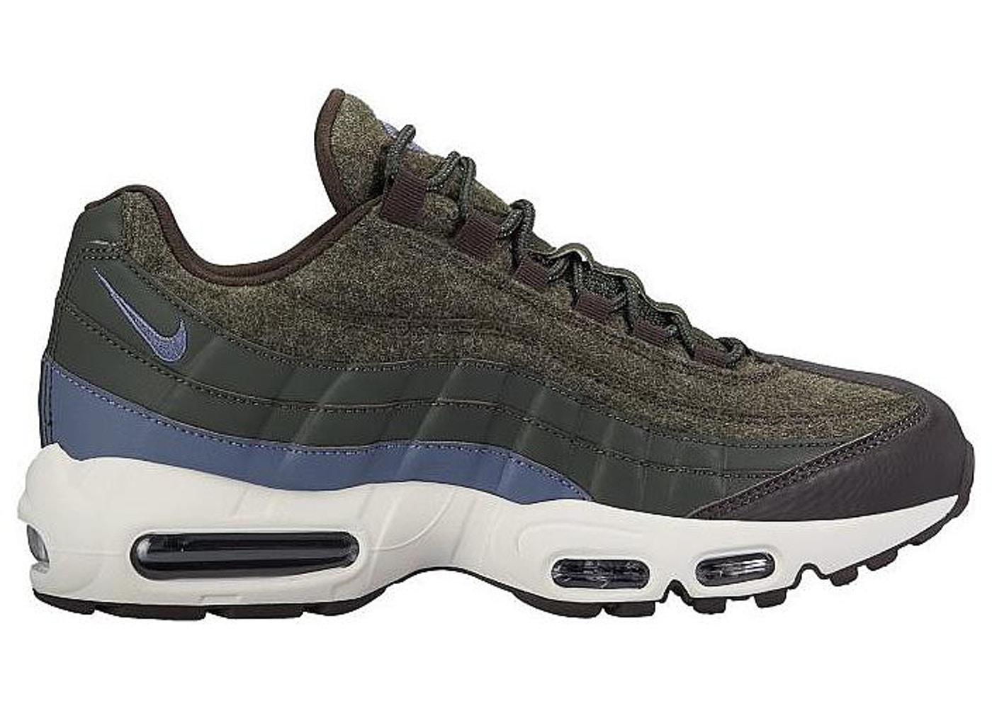 ナイキ メンズ エアマックス95 Nike Air Max 95 Wool Sequoia CARBON-VELVET BROWN