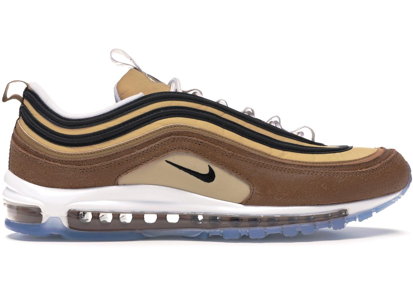 ナイキ メンズ エアマックス97 Nike Air Max 97 Shipping Box Ale Brown スニーカー ALE BROWN/BLACK-ELEMENTAL GOLD