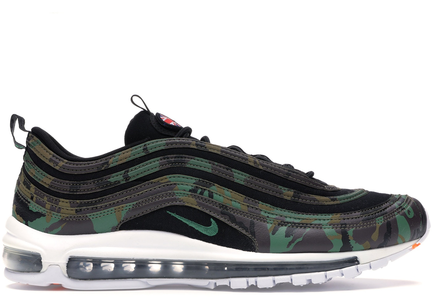 ナイキ メンズ エアマックス97 Nike Air Max 97 Country Camo UK スニーカー RAW UMBER/FORTRESS GREEN-BLACK EARTH
