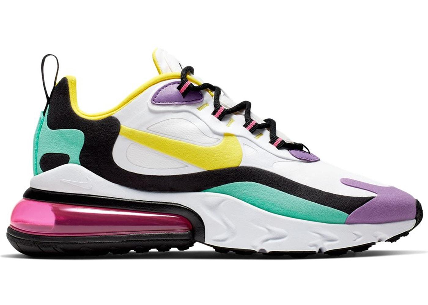 ナイキ レディース エアマックス270 Nike Air Max 270 スニーカー White/Dynamic Yellow/Black/Bright