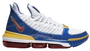 """ナイキ キッズ/レディース Nike LeBron 16 XVI GS """"SuperBron"""" バッシュ White/Red/Royal レブロン16 ミニバス"""