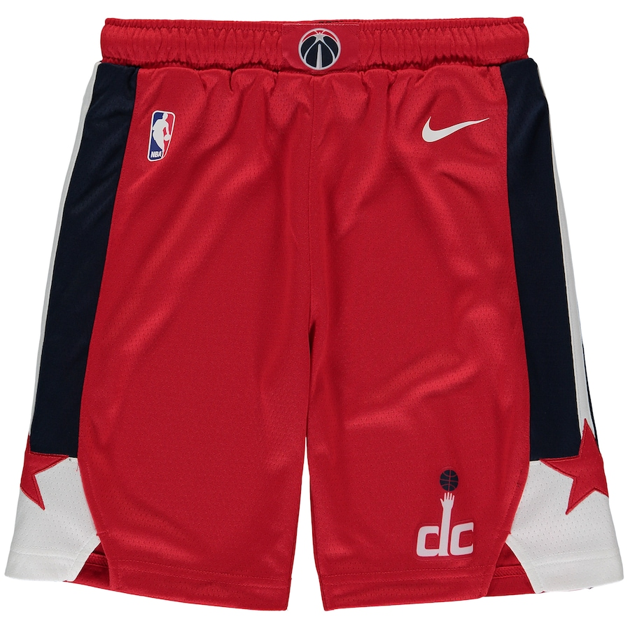 ナイキ キッズ ハーフパンツ Washington Wizards Nike Youth Swingman Icon Performance Shorts バスパン Red