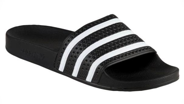 アディダス メンズ サンダル adidas Originals Adilette スリッパ Black/White/Black