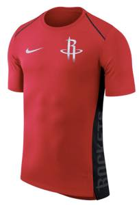 ナイキ メンズ Tシャツ Houston Rockets Nike Elite Shooter Performance T-Shirt Red