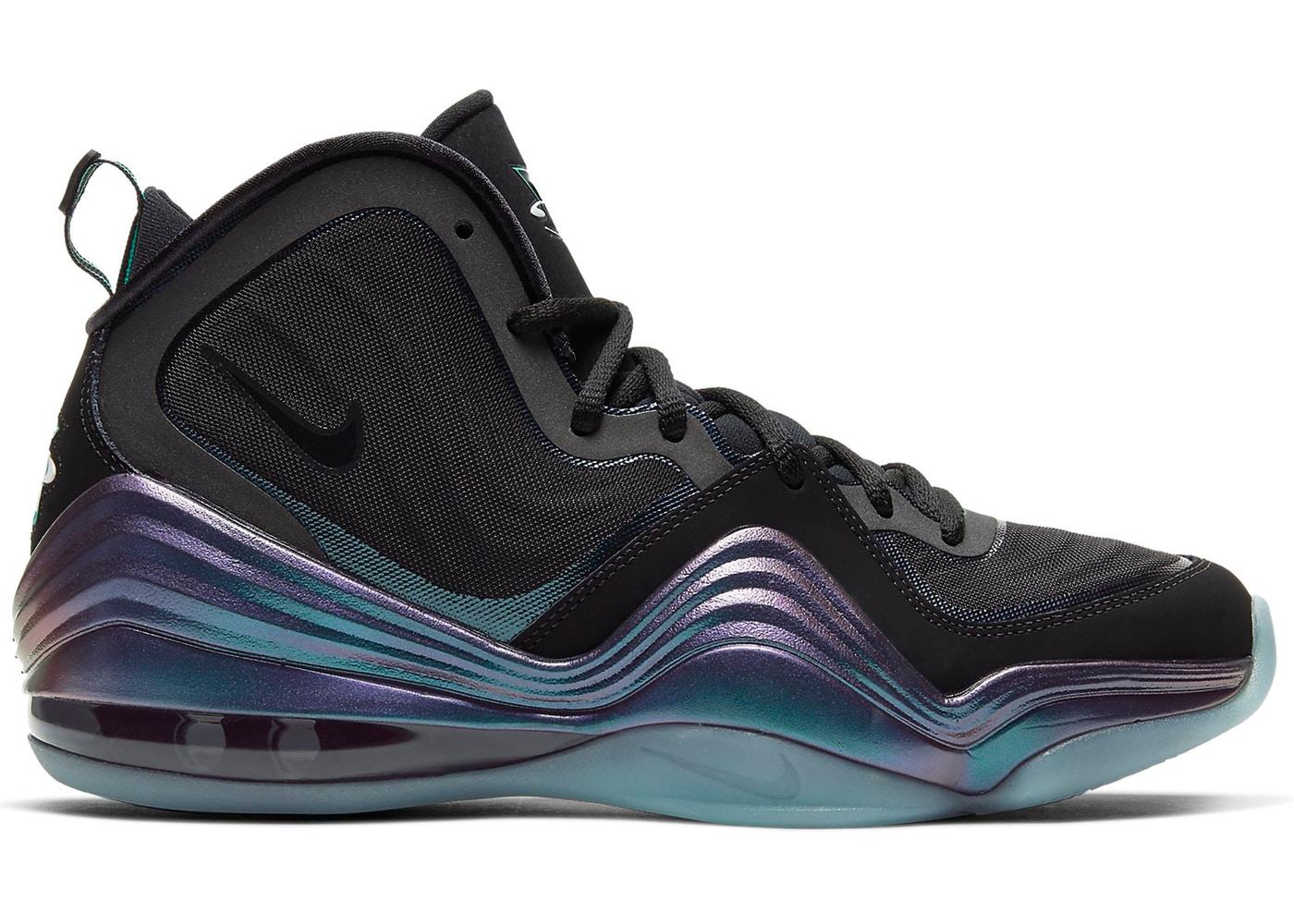 ナイキ メンズ エア ぺニー5 Nike Air Penny 5 スニーカー Black/Atomic Teal/Purple/Teal