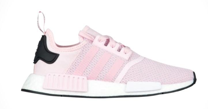 アディダス オリジナルス レディース/ガールズ adidas Originals NMD R1 ランニング トレーニングシューズ Clear Pink/White/Black