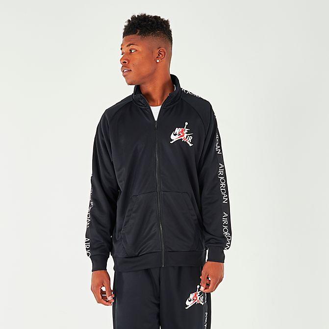 ジョーダン メンズ Jordan Classic Tricot Warm-Up Jacket トラックジャケット Black