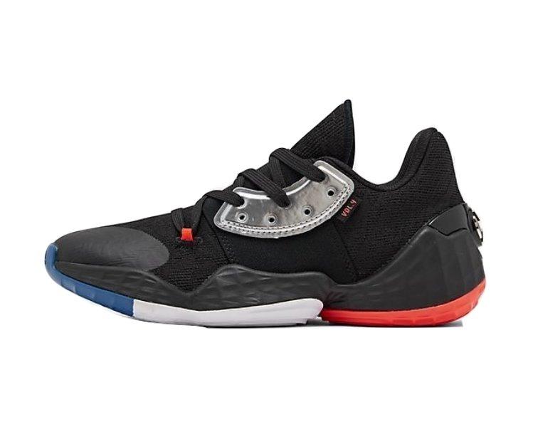 アディダス キッズ/レディース ハーデン4 adidas Harden Vol. 4 GS バッシュ Black/Silver Met/Blue