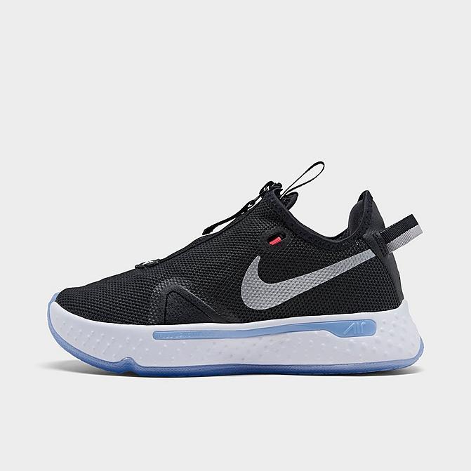 ナイキ メンズ バスケット シューズ Nike PG 4 バッシュ Black/White/Light Smoke Grey
