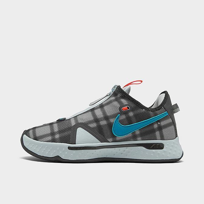 ナイキ メンズ バスケット シューズ Nike PG 4 バッシュ Grey/Laser Blue/Light Smoke Grey