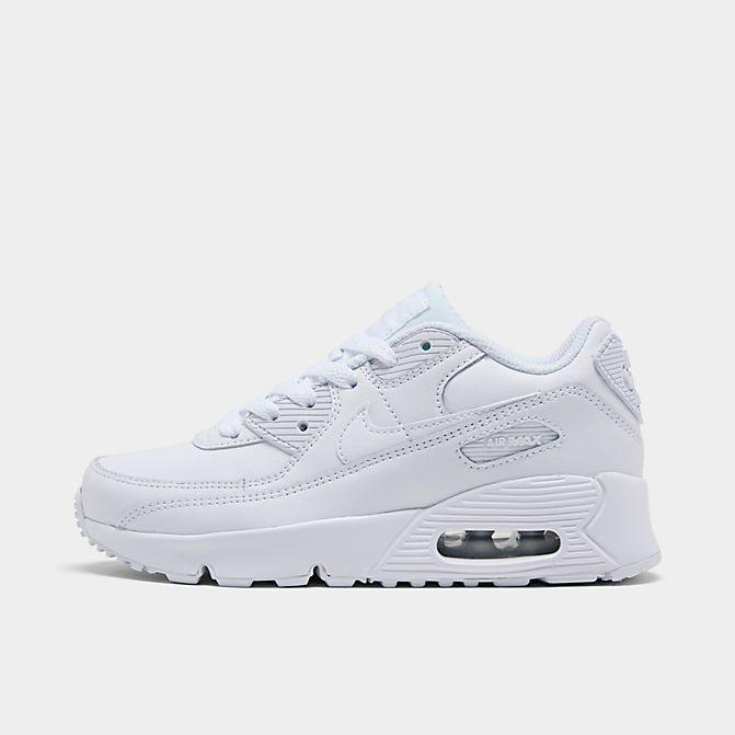 ナイキ キッズ/ジュニア エアマックス90 Nike Air Max 90 PS スニーカー White/Metallic Silver