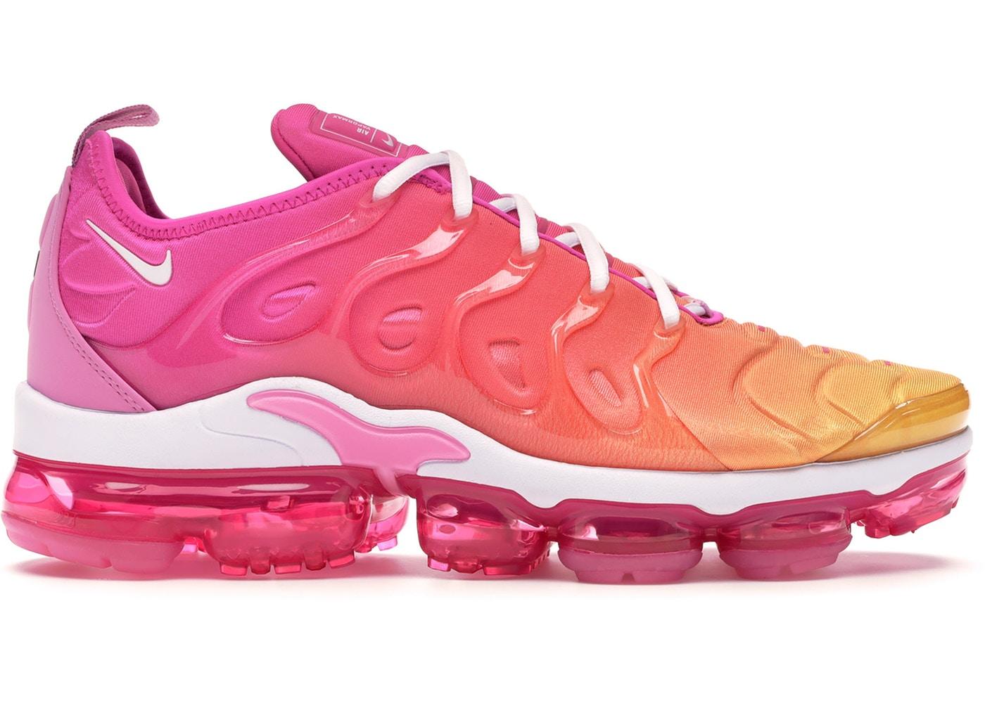 ナイキ レディース ヴェイパーマックス プラス Nike Air Vapormax Plus ランニングシューズ Laser Fuchsia/White/Psychic Pink