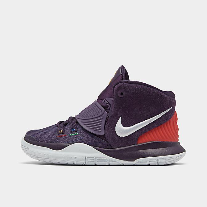 ナイキ キッズ/ジュニア カイリー6 Nike Kyrie 6 PS バッシュ Grand Purple/Multi-Color/White ミニバス