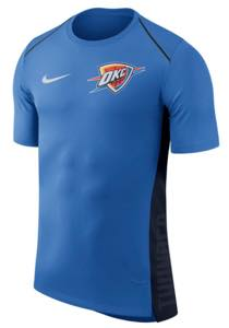 ナイキ メンズ Tシャツ Oklahoma City Thunder Nike Elite Shooter Performance T-Shirt Blue