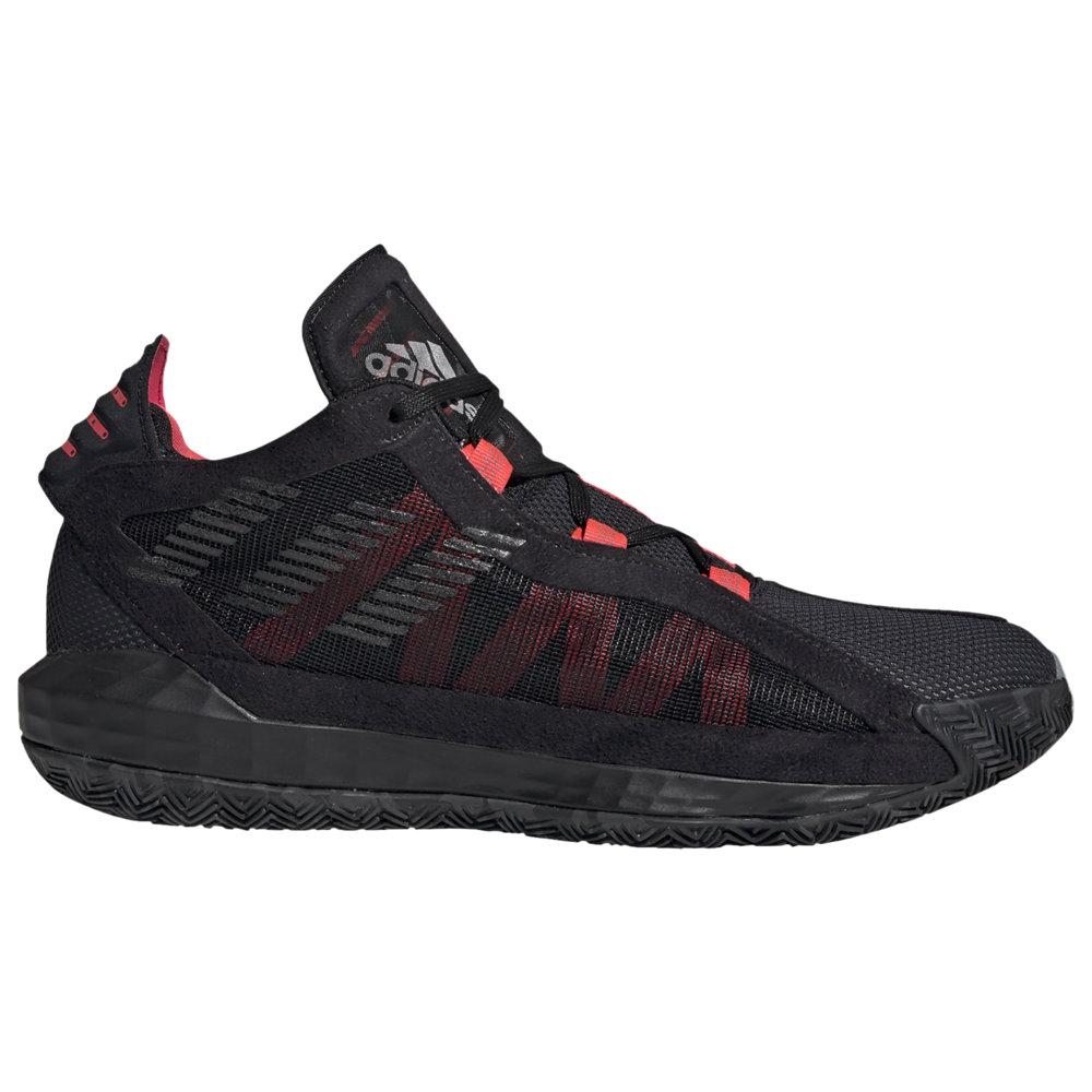 アディダス メンズ デイム6 adidas Dame 6 バッシュ Black/Trace Grey/Shock Red