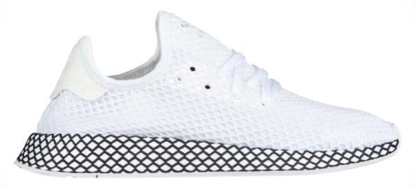アディダス メンズ adidas Originals Deerupt Runner スニーカー ランニングシューズ White/White/Black