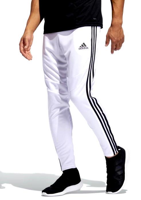 即納 アディダス メンズ パンツ ADIDAS TIRO 19 TRAINING PANTS スウェットパンツ ジャージ WHITE / BLACK
