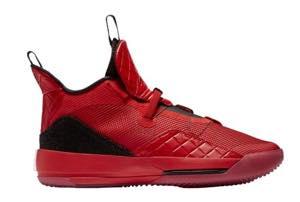 """ジョーダン メンズ バッシュ Jordan XXXIII 33 """"Full Red"""" バスケットボール University Red/University Red/Black"""