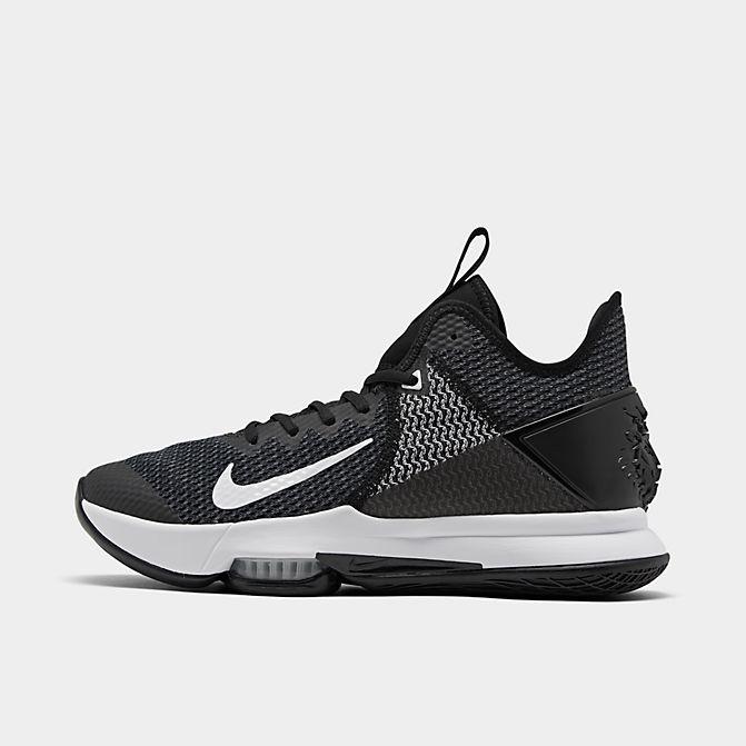 ナイキ メンズ レブロン ウィットネス4 Nike LeBron Witness 4 バッシュ Black/White/Photo Blue