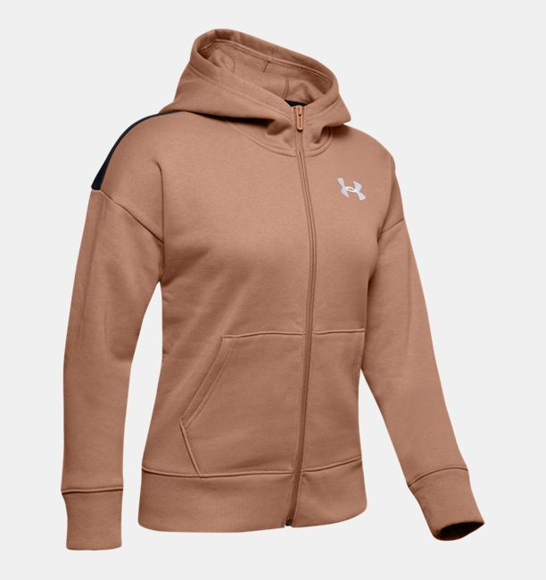 アンダーアーマー レディース パーカー Under Armour Originators Fleece LC Logo FullqSUpMVz