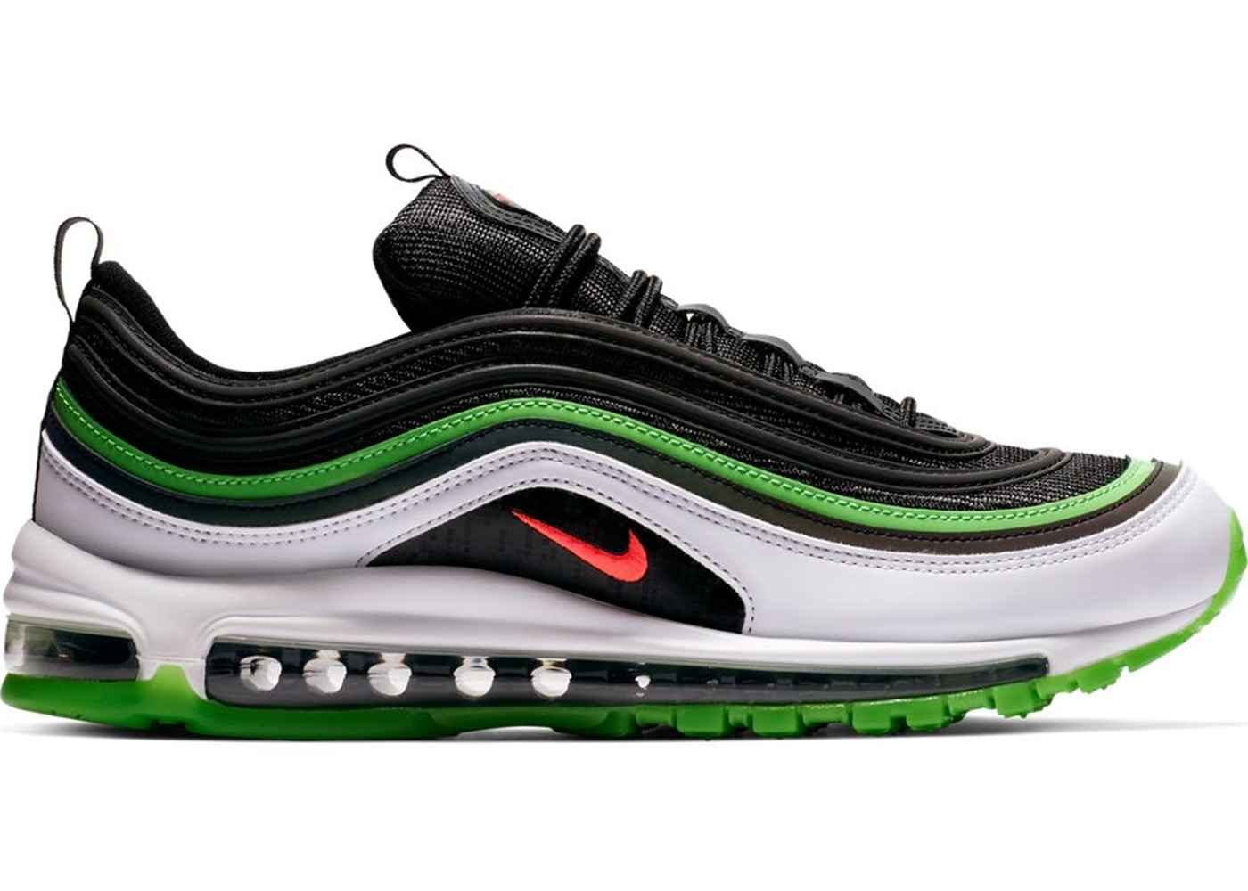 ナイキ メンズ エアマックス97 Air Max 97 Dallas Home スニーカー BLACK/BRIGHT CRIMSON-WHITE-RAGE GREEN