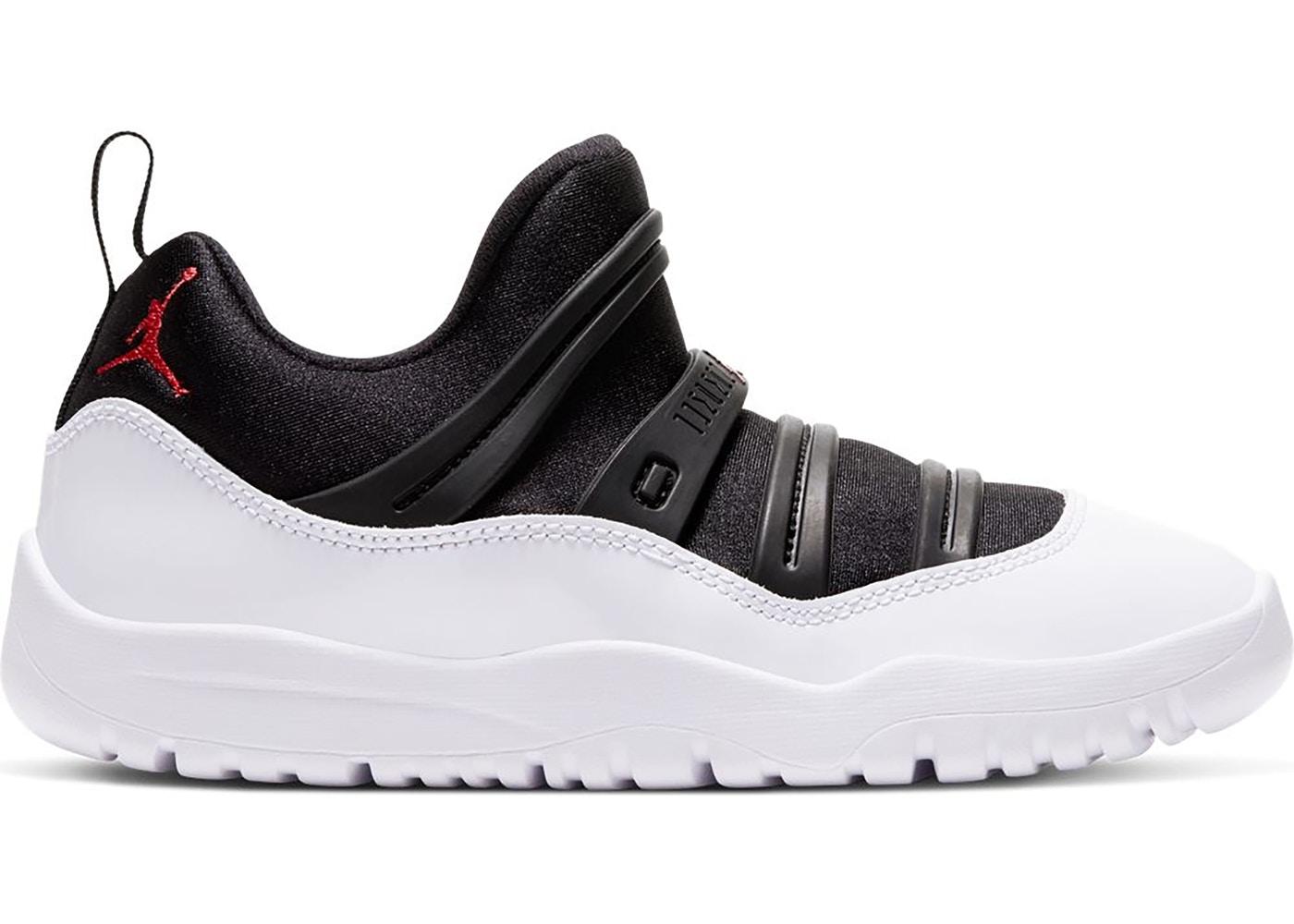 ジョーダン レトロ11 キッズ/ジュニア Air Jordan Retro 11 Little Flex Preschool PS スニーカー Black/True Red/White