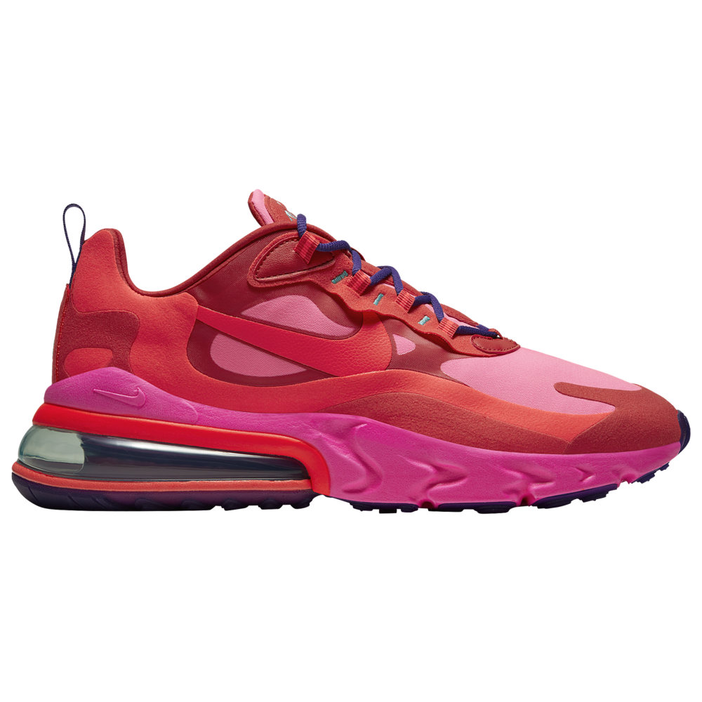 ナイキ メンズ エア マックス270 Nike Air Max 270 React スニーカー Mystic Red/Bright Crimson/Pink Blast