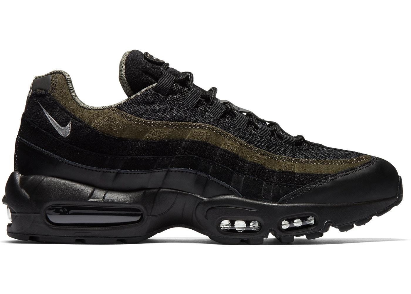 ナイキ メンズ エアマックス95 Nike Air Max 95 HAL Black Olive BLACK/CARGO KHAKI-FLAT SILVER-BLACK