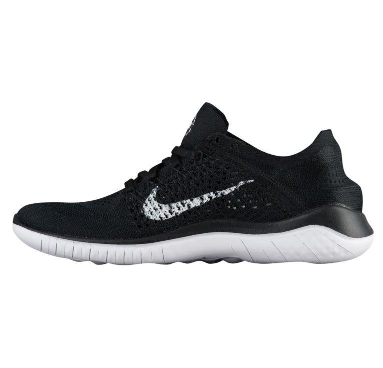 ナイキ レディース ランニングシューズ スニーカー Nike Free RN Flyknit 2018 Black/White