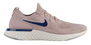 ナイキ メンズ ランニングシューズ Nike Epic React Flyknit リアクト フライニット スニーカー Diffused Taupe/Blue Void/Phantom/Crimson Tint
