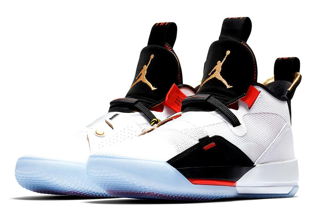 "ジョーダン メンズ Jordan XXXIII 33 ""Future Flight"" バッシュ White/Metallic Gold/Black/Vast Grey ナイキ NIKE"
