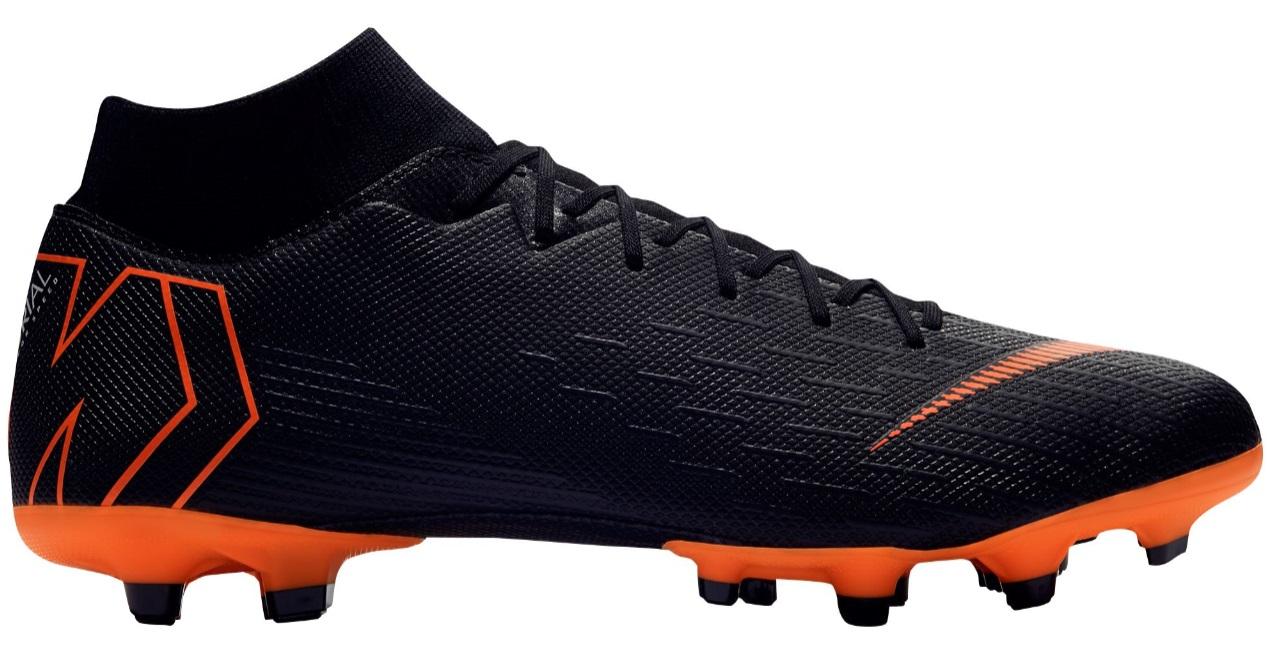 ナイキ メンズ サッカー シューズ Nike Mercurial Superfly 6 Academy スパイク Black/Total Orange/White