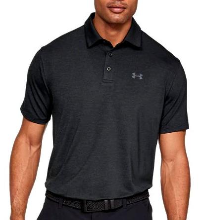 【コレ買ってきて】2/20より注文順に発送開始予定 送料無料 アンダーアーマー メンズ Under Armour Playoff 2.0 Golf Polo Shirt ゴルフ ポロシャツ Black/Black