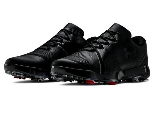 アンダーアーマー メンズ ゴルフシューズ Under Armour Spieth 3 Golf Shoes スパイク ジョーダン・スピース Black/Black