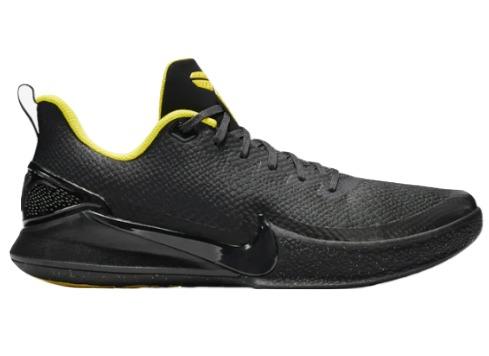 ナイキ マンバ フォーカス メンズ Nike Mamba Focus バッシュ Black/Anthracite/Optic Yellow