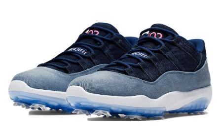 finest selection dca47 4d0d6 Jordan men gap fatty tuna 11 Air Jordan 11 Retro Low Golf golf shoes  Denim/Denim large amount is rare