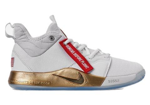 ナイキ キッズ/レディース バッシュ Nike PG 3 GS