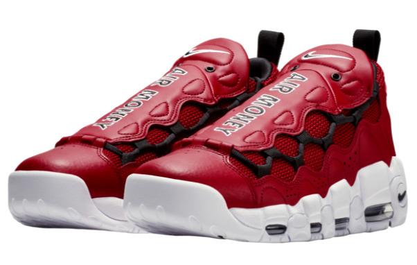 ナイキ メンズ スニーカー Nike Air More Money エア モアマネー Gym Red/Black/White